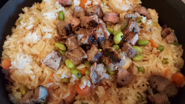 "Any Meat, Grain and Veggie ""Fried Rice"""
