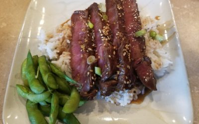 Grilled Asian Marinated Flank Steak